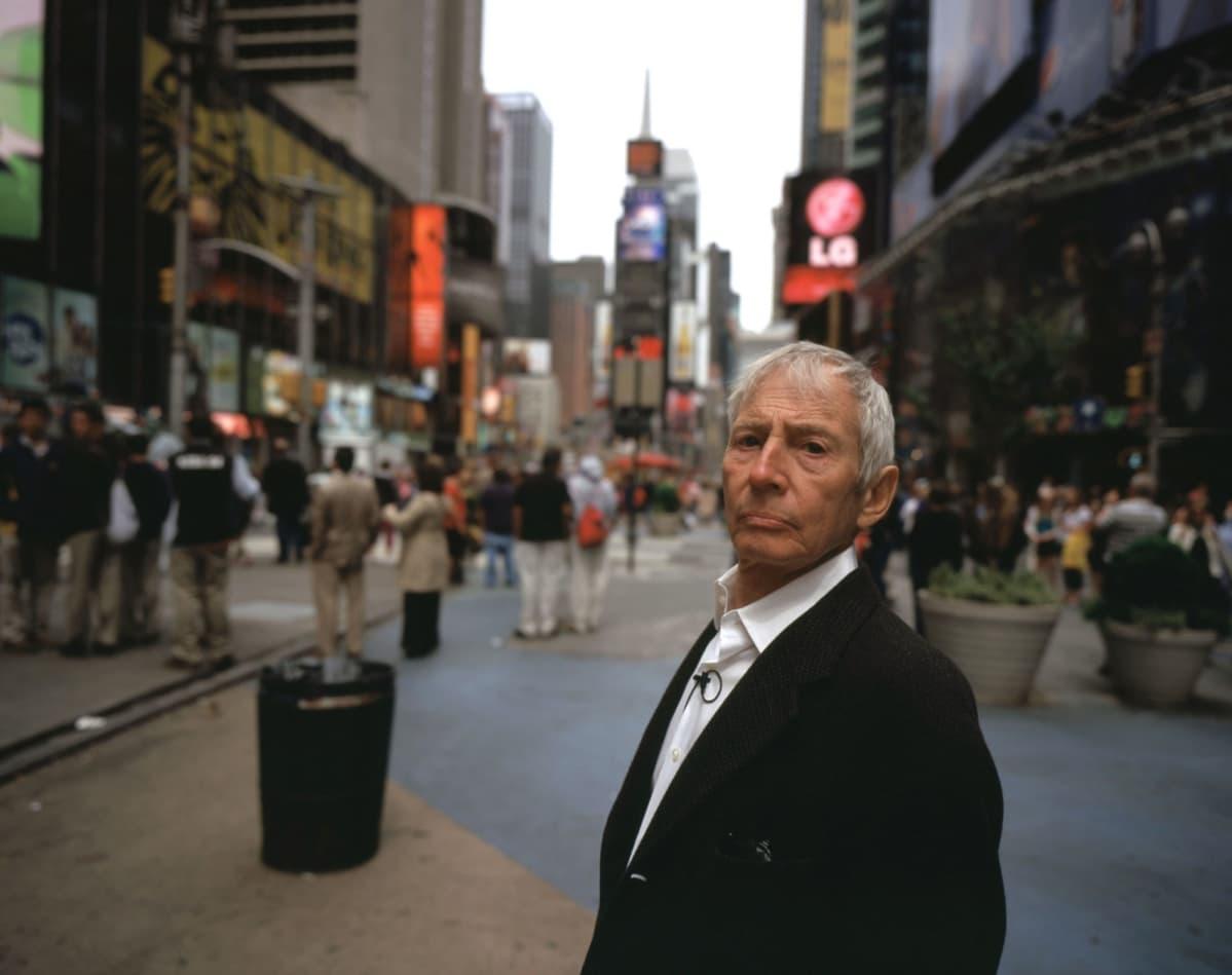 Robert Durst vid Times Square i New York