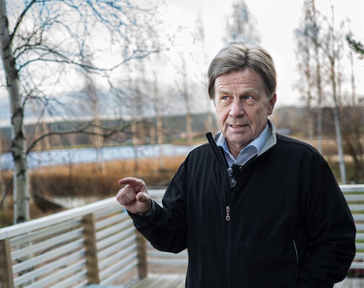 Mauri Pekkarinen MOT:n haastattelussa
