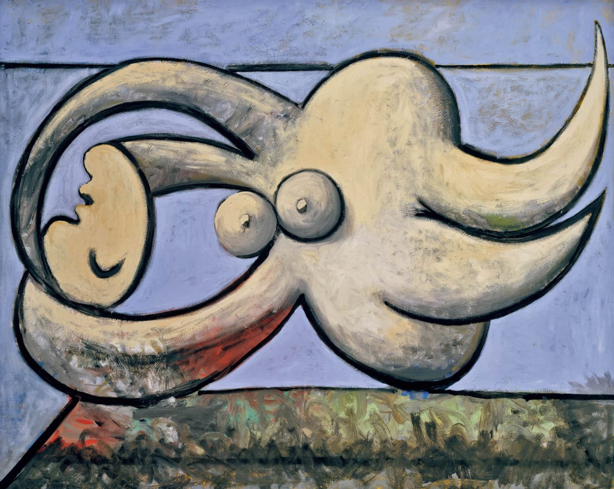Pablo Picasso: Reclining Nude (1932)