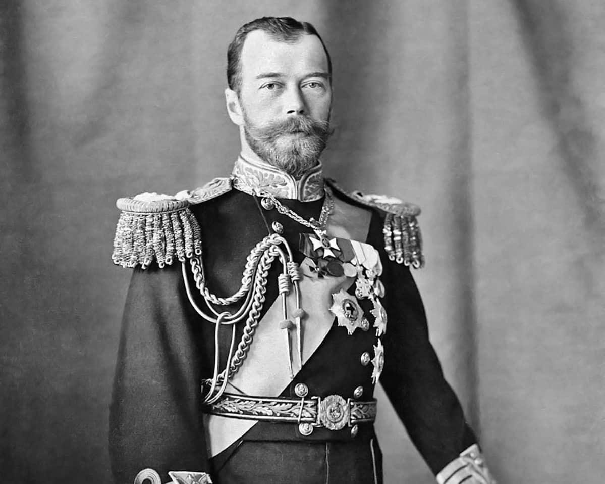 Venäjän Tsaari Nikolai II