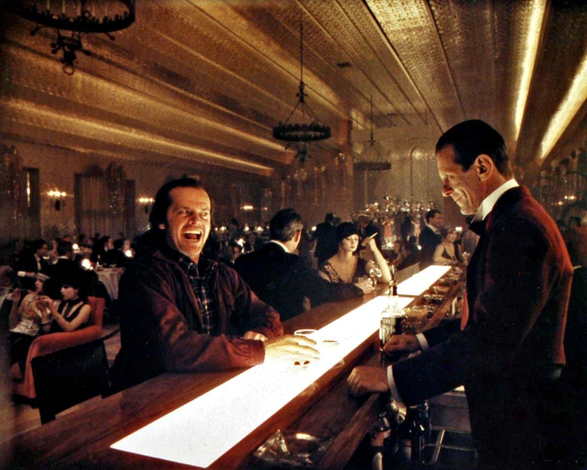 Jack Nicholson näytteli miespääosaa Hohto-elokuvassa (The Shining).