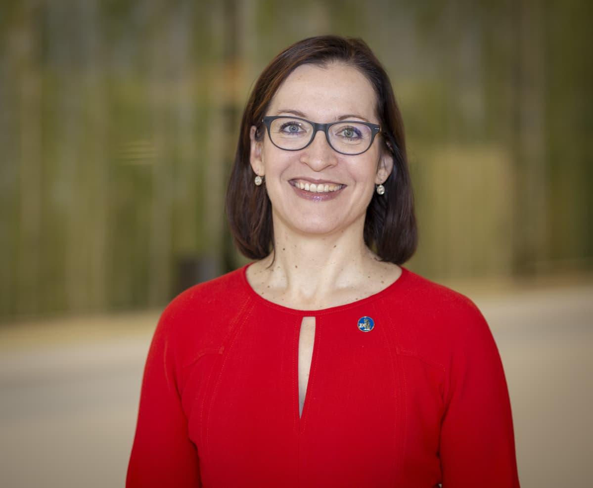 Asianajajaliiton varapuheenjohtaja Hanna Räihä-Mäntyharju.