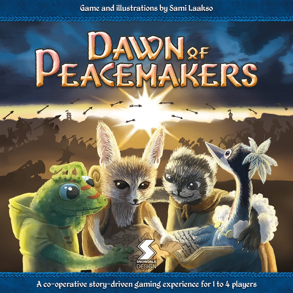 Sami Laakso, Dawn of Peacemakers, lautapeli