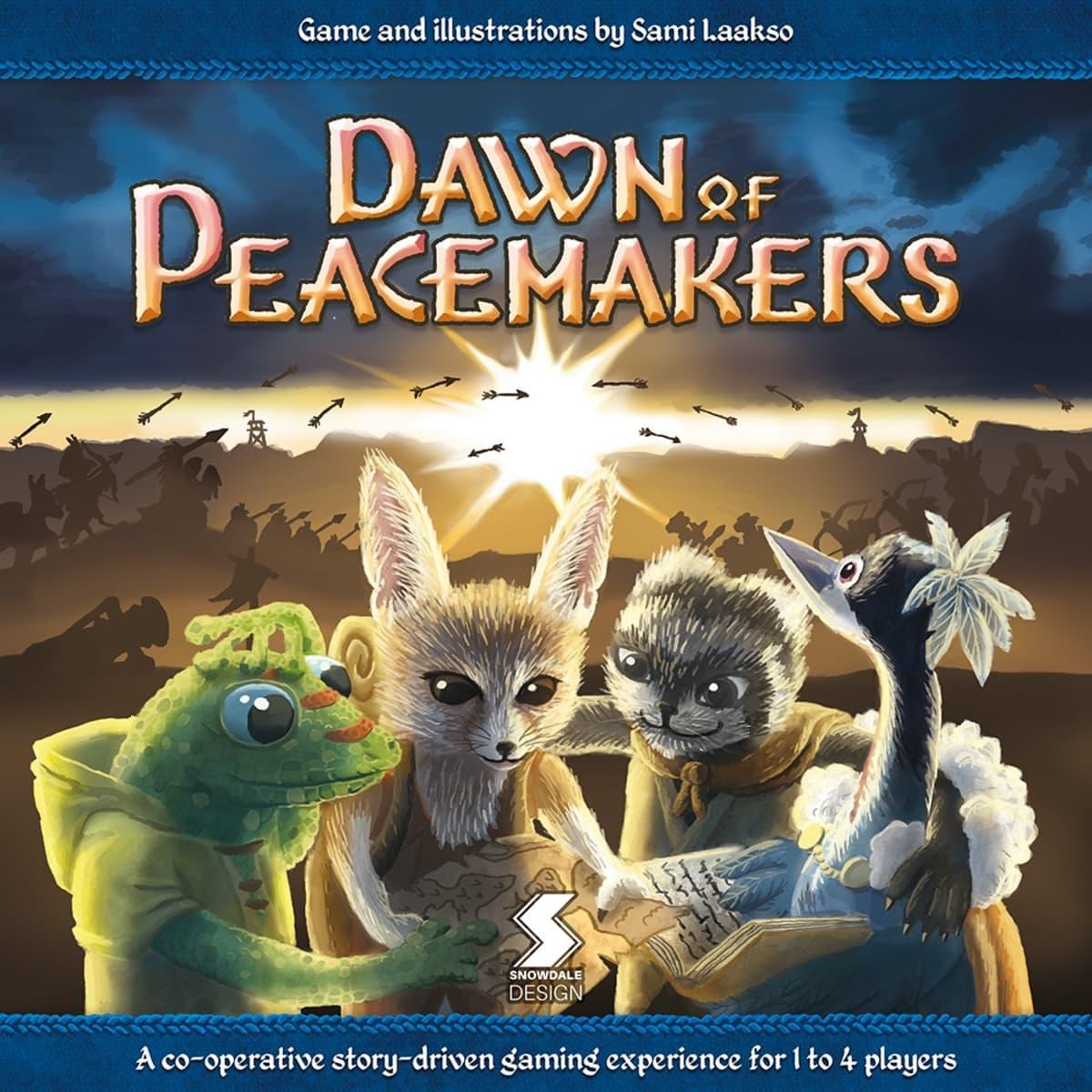 Sami Laakso, Dawn of Peacemakers, lautapeli
