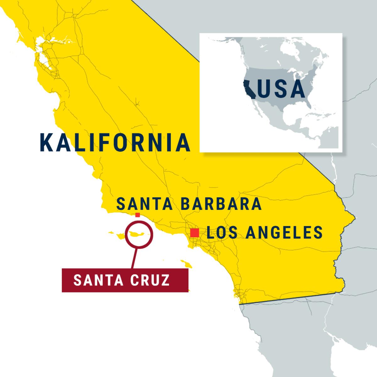 Kalifornia. Kohokuviokartta. 3D Matkamuistokartta