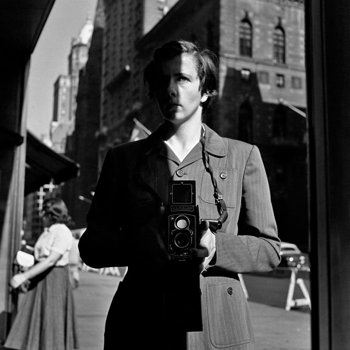 Vivian Maierin omakuva, heijastus