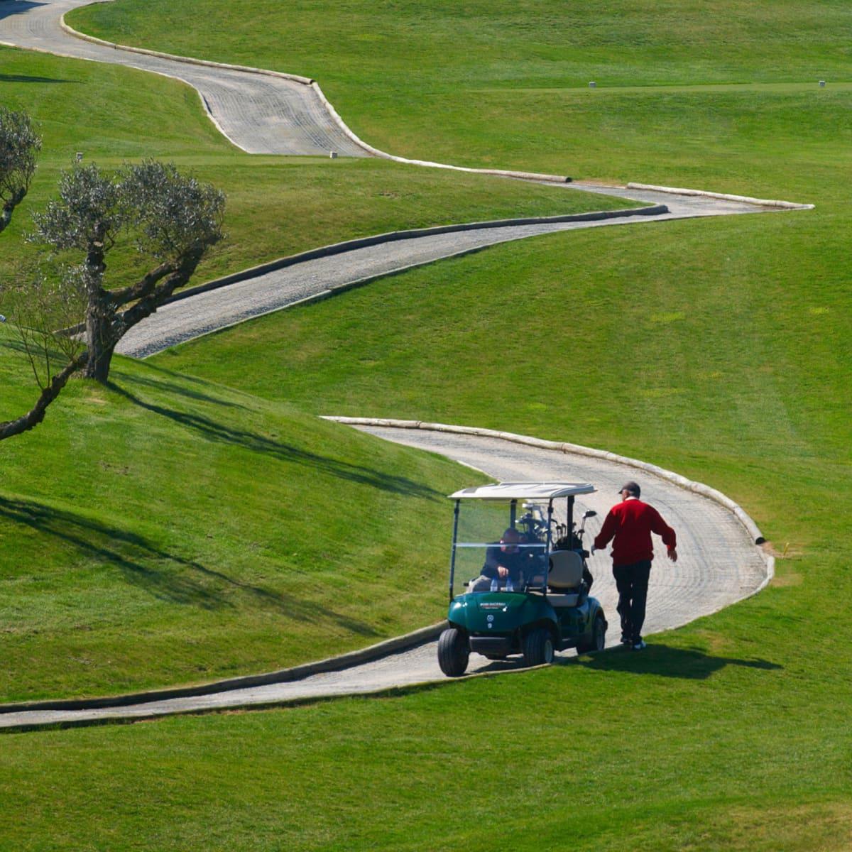 Golfkenttä Portugalissa