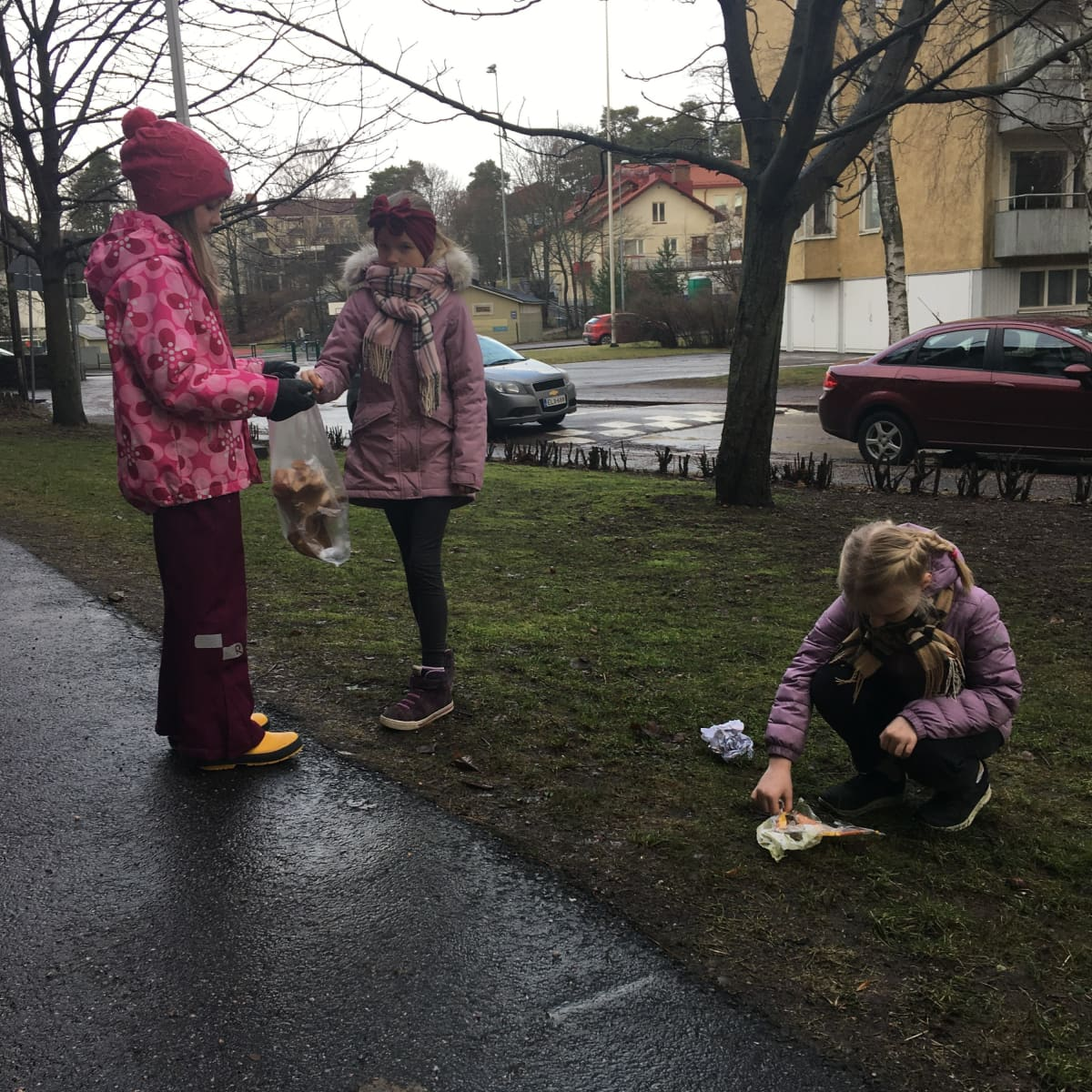 Lapsia voi innostaa pitämään luontoa puhtaana