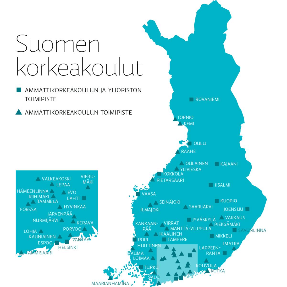 Ammattikorkeakouluista Valmistunut Jaa Aloilleen Yle Uutiset