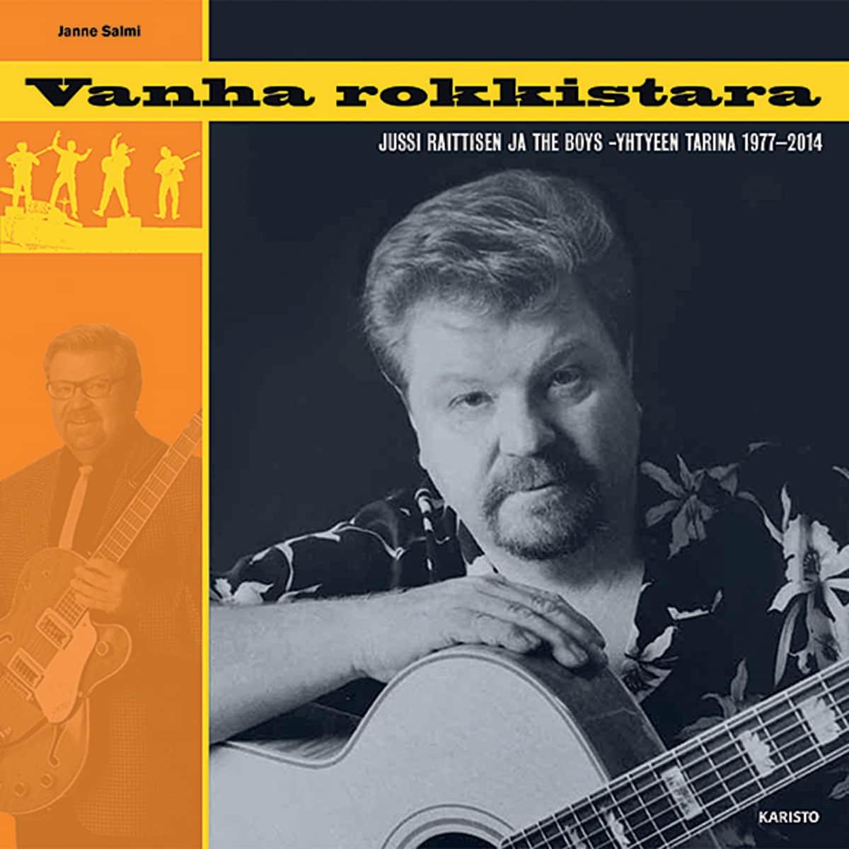 Janne Salmi: Vanha rokkistara -kirjan kansi