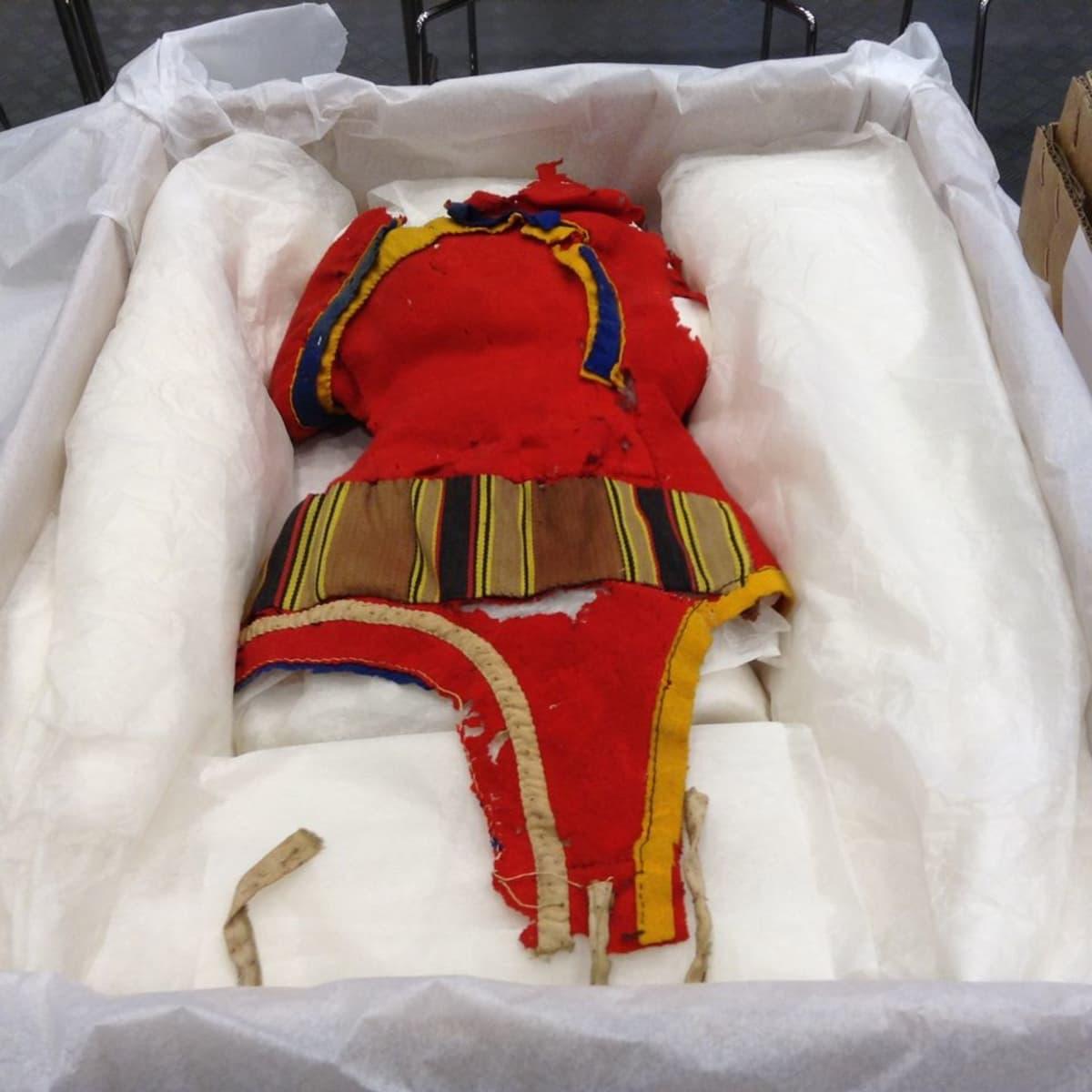 Sarvilakki, Vapriikin saamelaiskokoelmasta,joka lahjoitettiin 29.4.2015 saamelaismuseo Siidaan