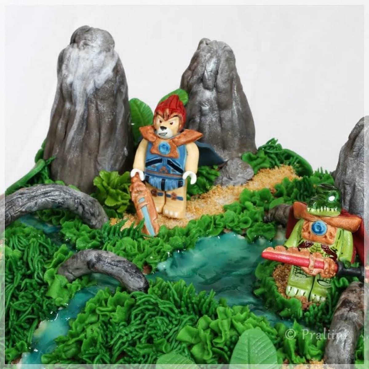 Lego Chima sademetsässä