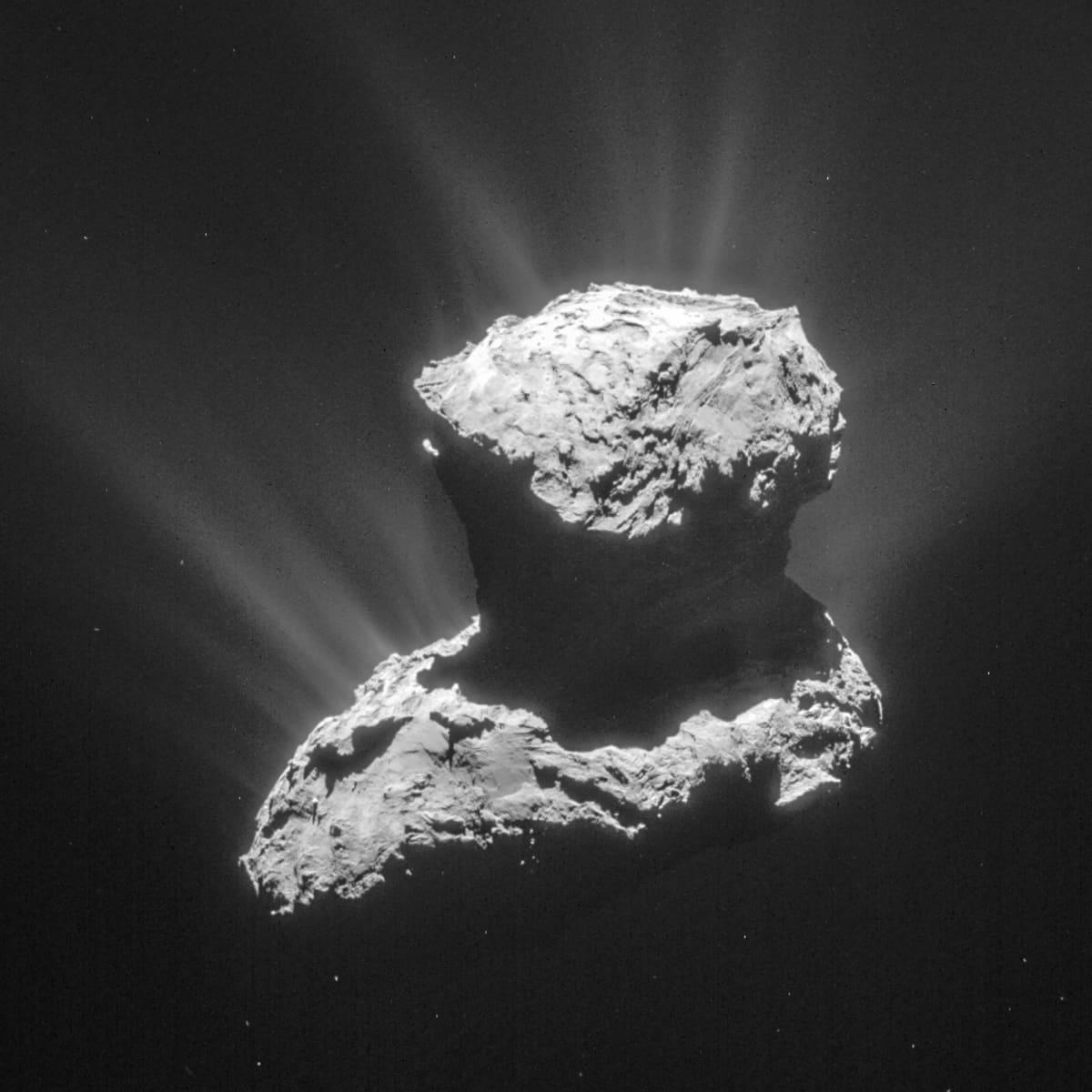 Rosettan komeetta.