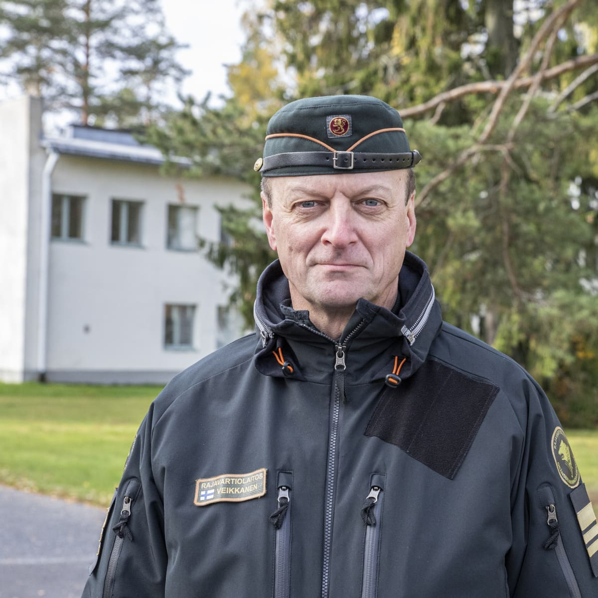 Kaakkois-Suomen rajavartioston everstiluutnantti Esa Veikkanen.