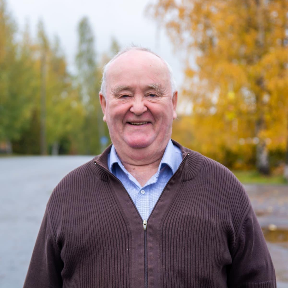 Kulttuuriosuuskunta Pro Oriveden hallituksen puheenjohtaja Reijo Kahelin