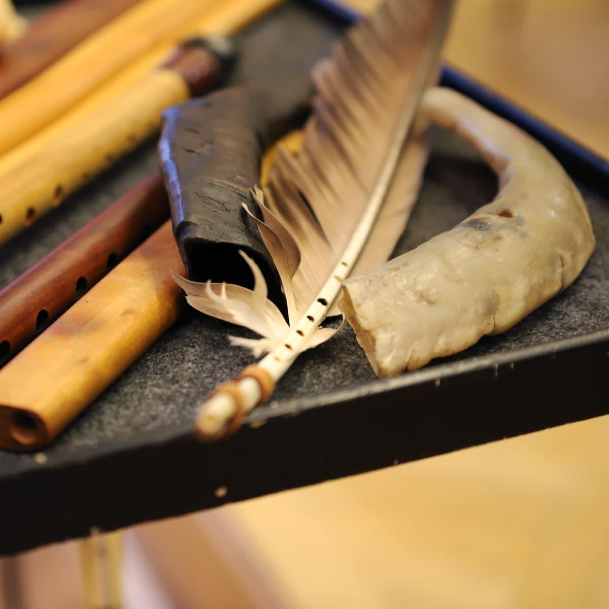 Abraham Cupeiron sarvi- ja sulka-soittimet