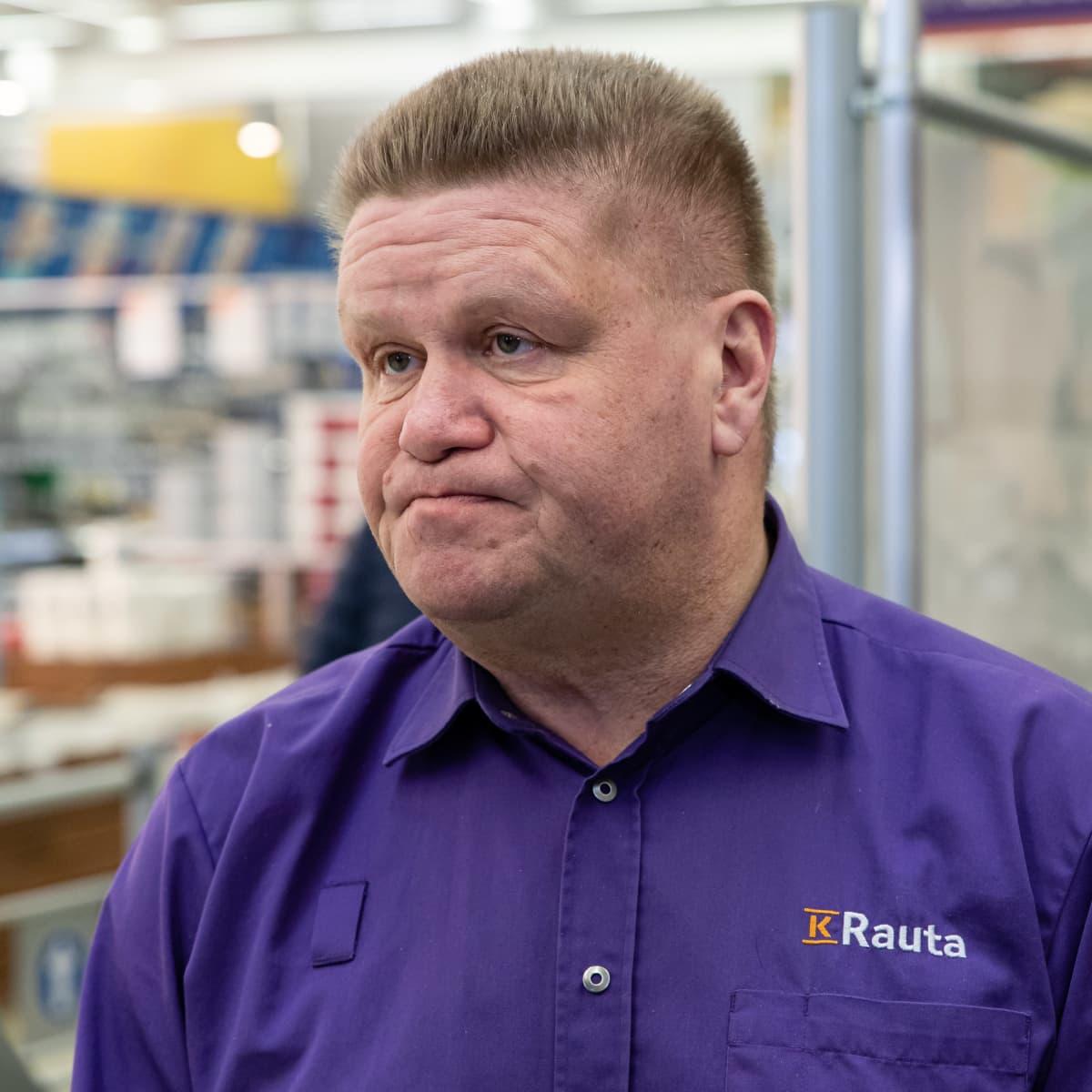 Timo Tersa, kauppias, K-Rauta Lappeenranta