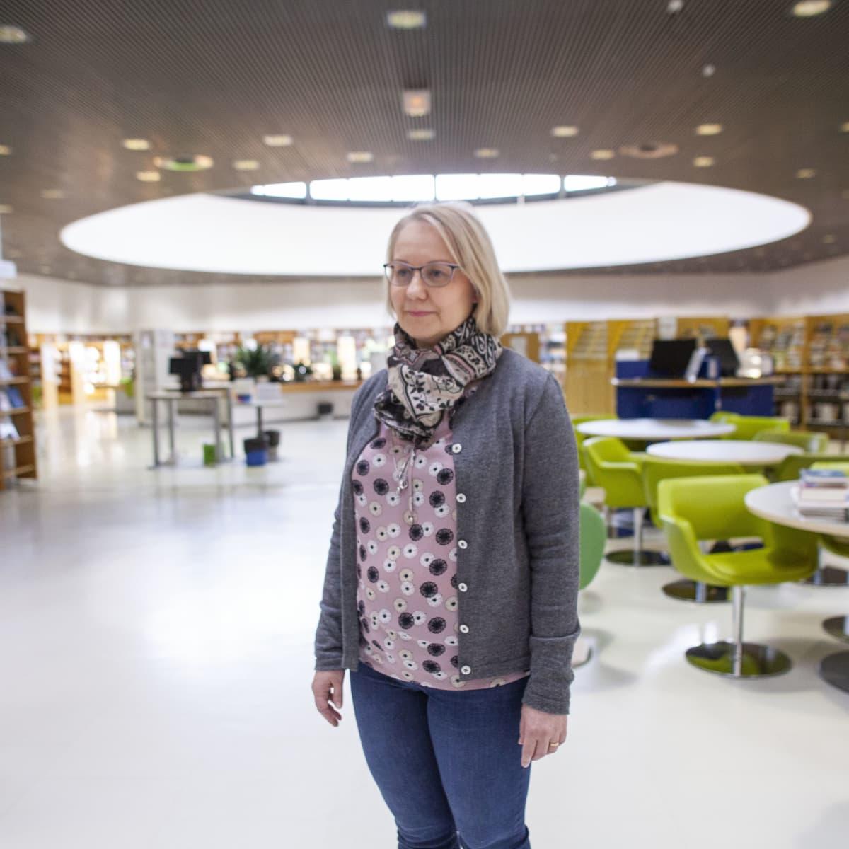 Kuopion kaupunginkirjasto.