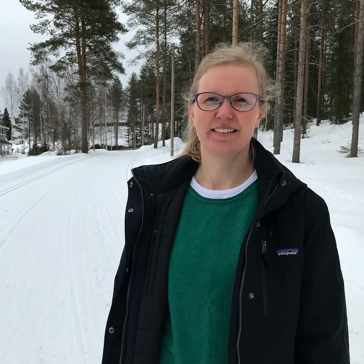 Lapin yliopiston apulaisprofessori Outi Rantala.