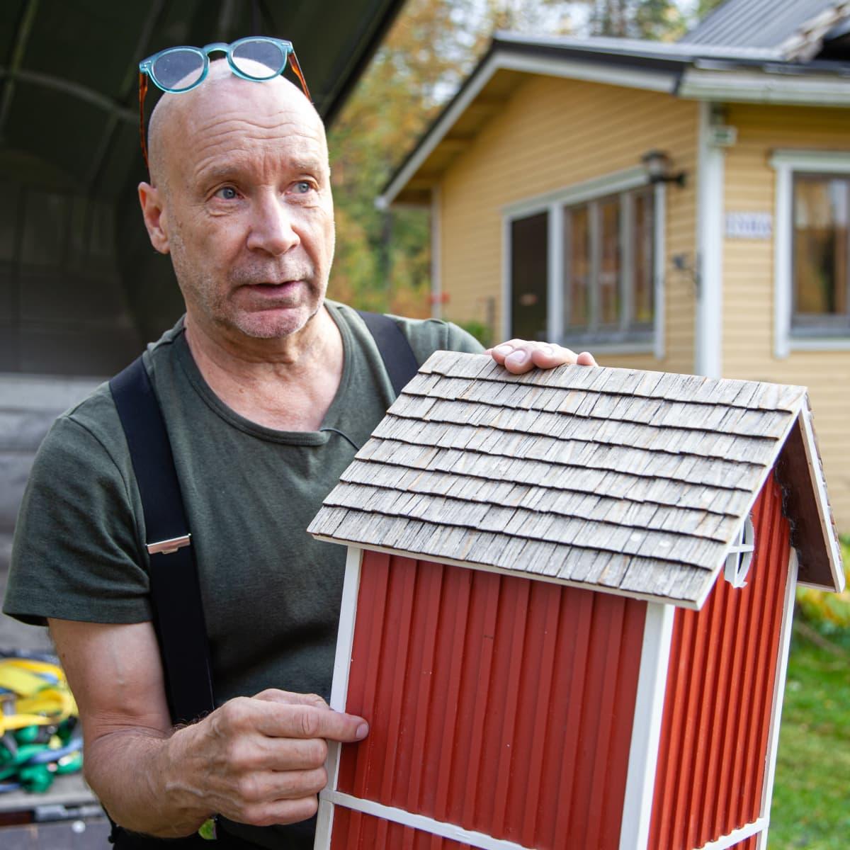 """taiteilija Markku """"Sika"""" Puustinen"""