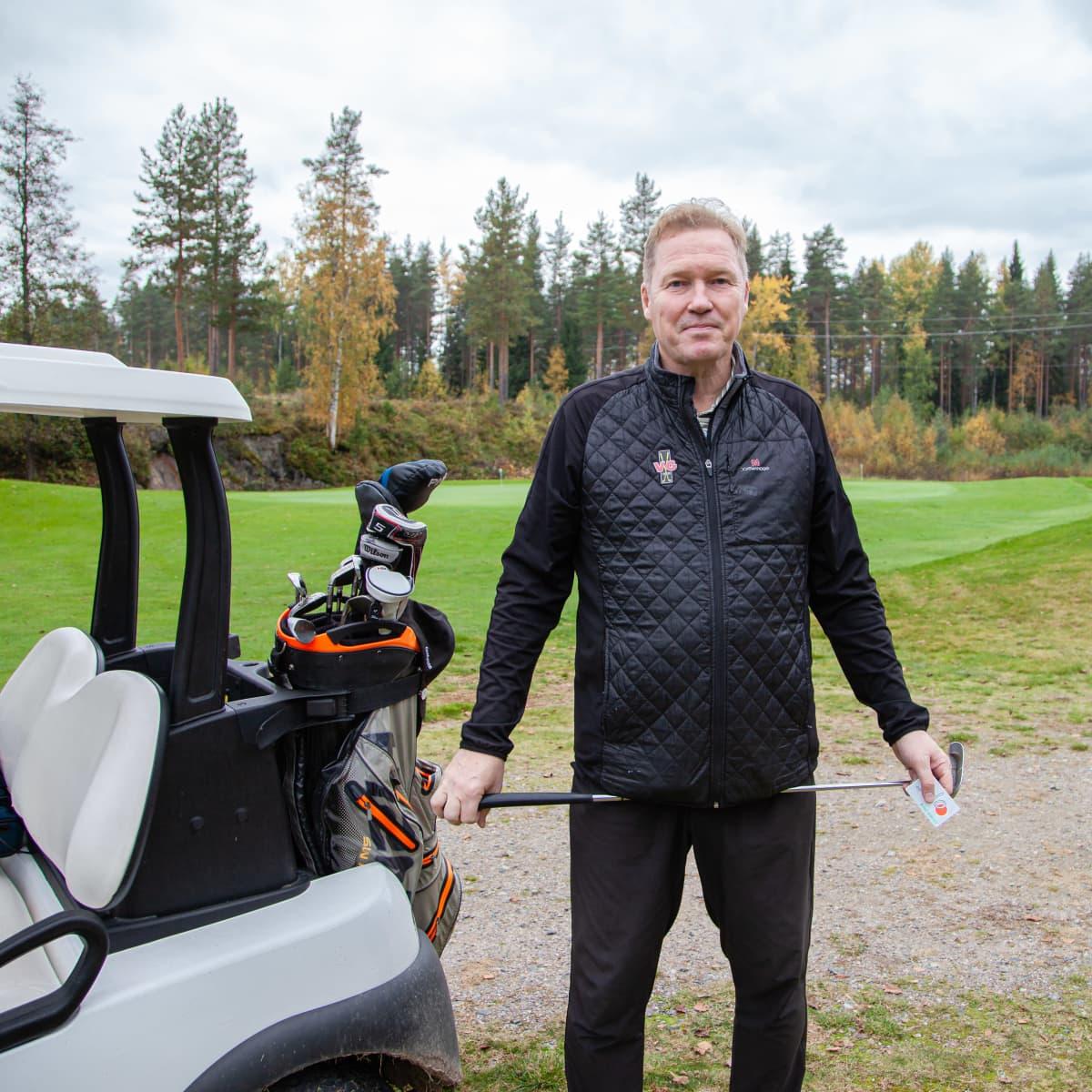 Viipuri Golf toimitusjohtaja Kari Kalin.