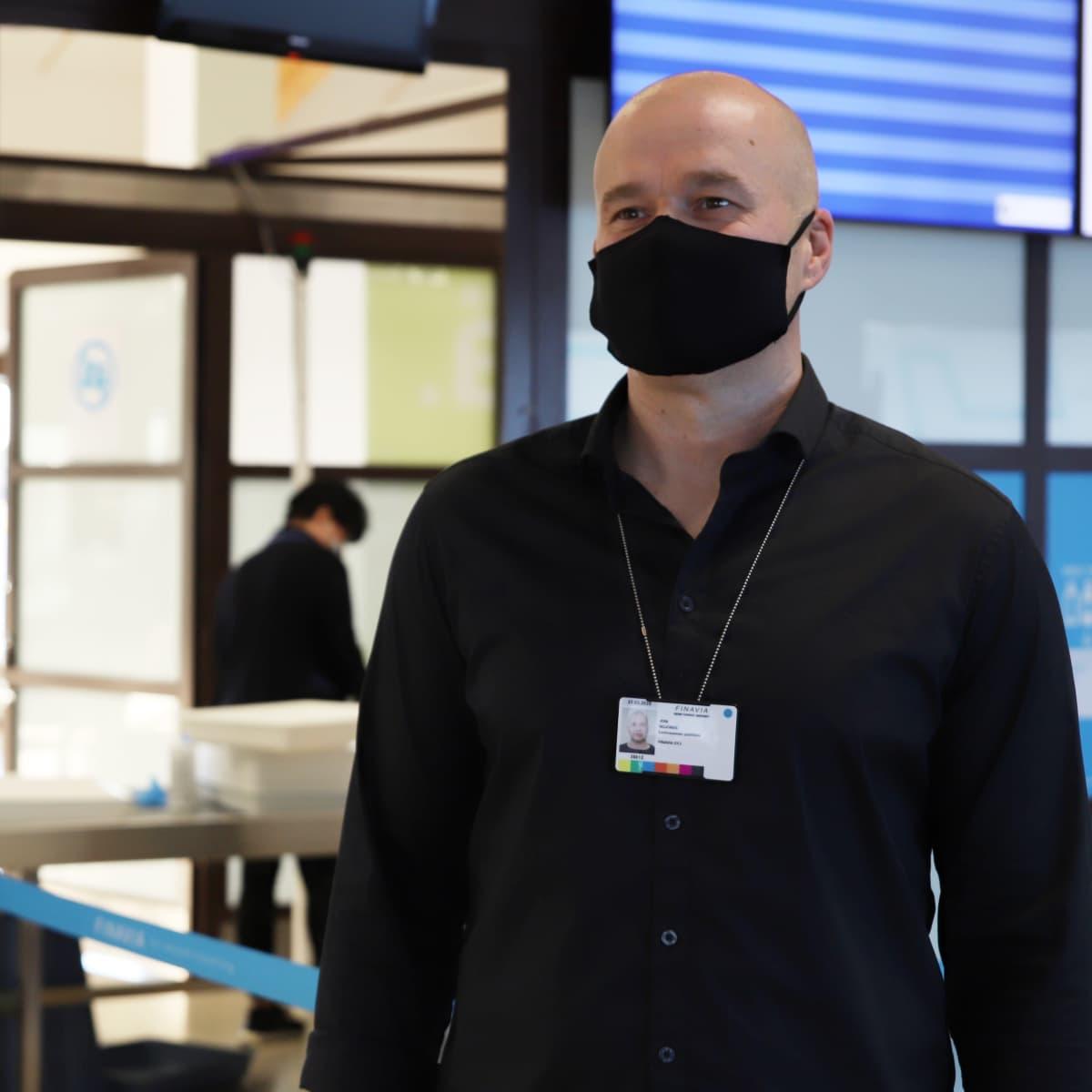 Kemi-Tornion lentoaseman päällikkö Joni Nojonen