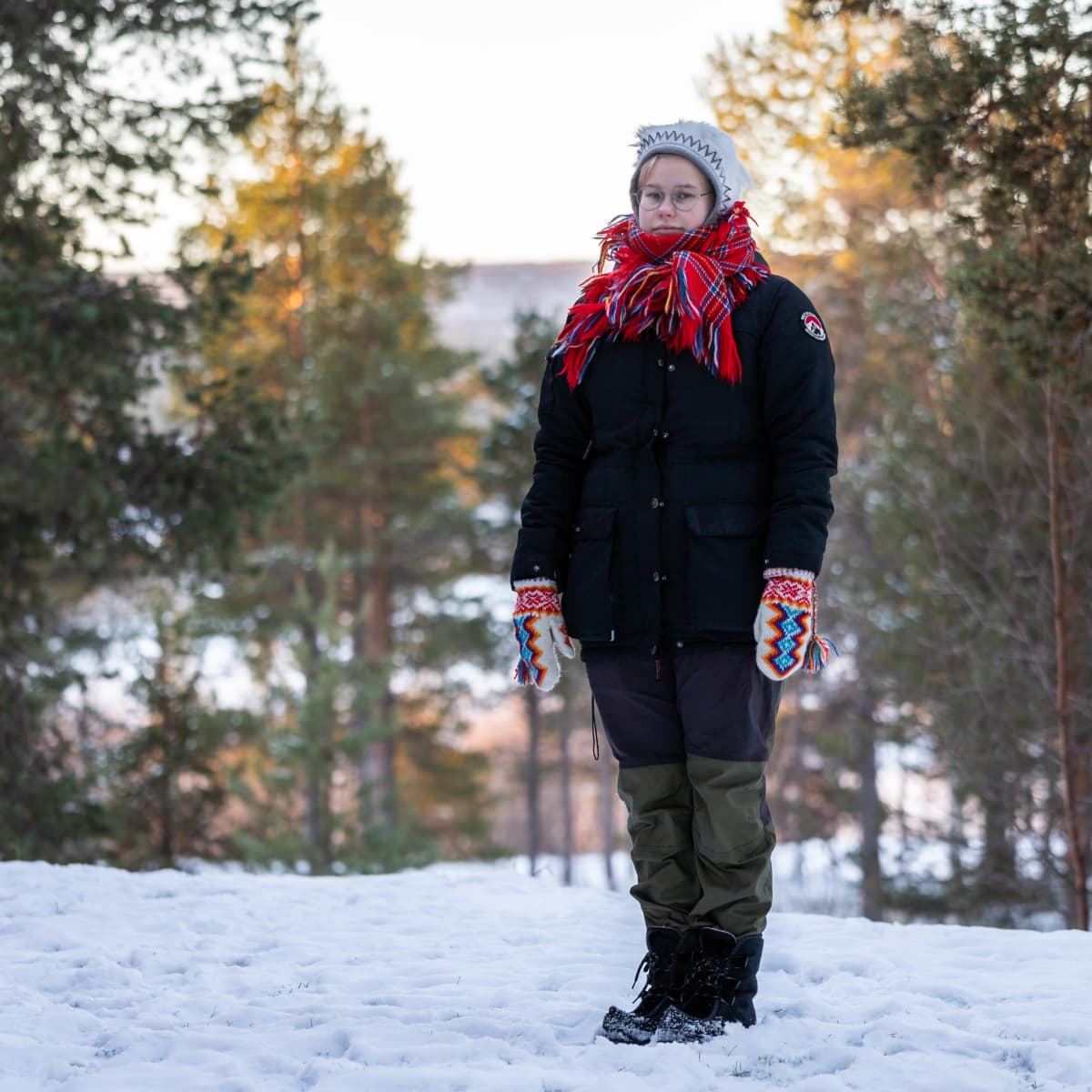 Saamelaiskäräjien nuorisoneuvoston puheenjohtaja Anni-Sofia Niittyvuopio.