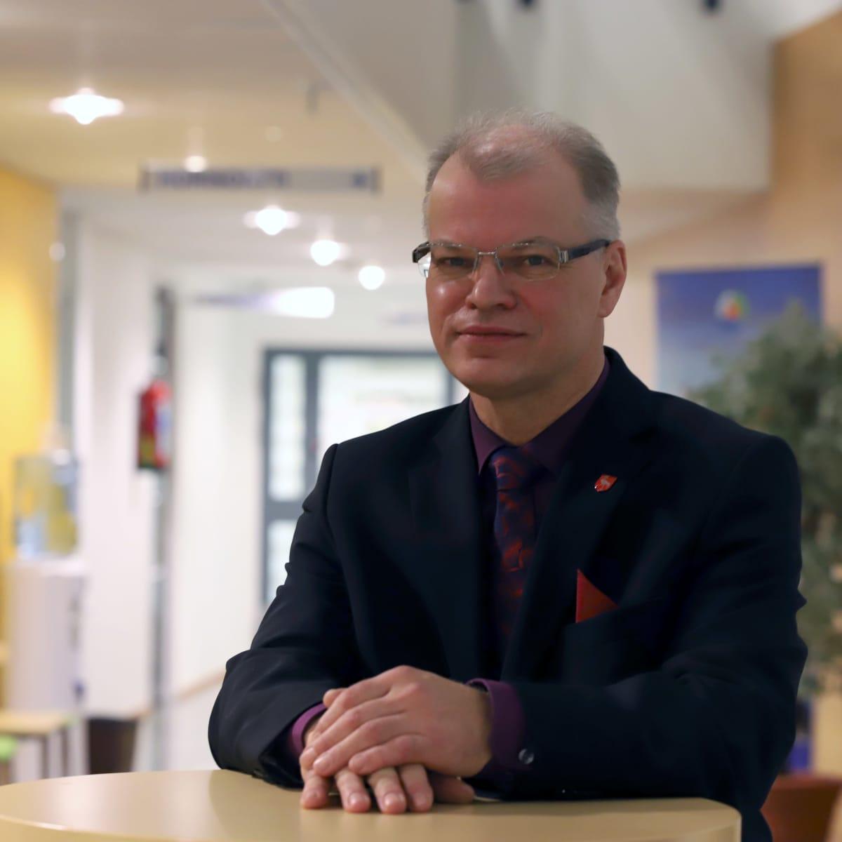 Tervolan kunnanjohtaja Mika Simoska.