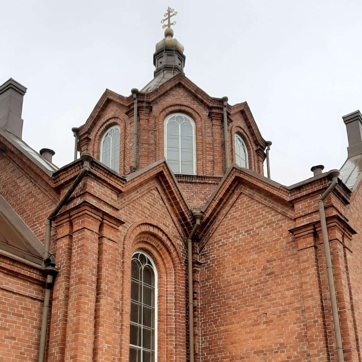 Vaasan ortodoksisen kirkon katto