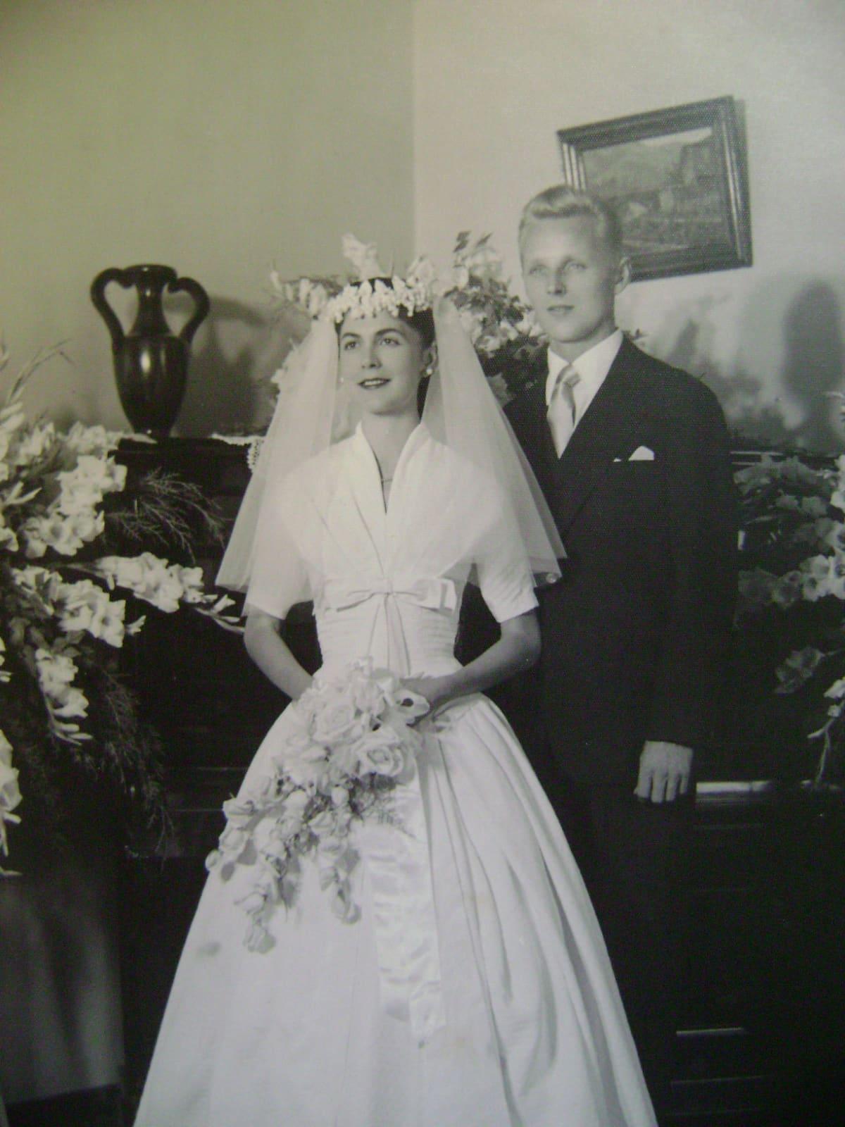 Virgínia Celme Prado da Fonseca ja Arvo Majuri menivät naimisiin Belo Horizonten kaupungissa vuonna 1956.