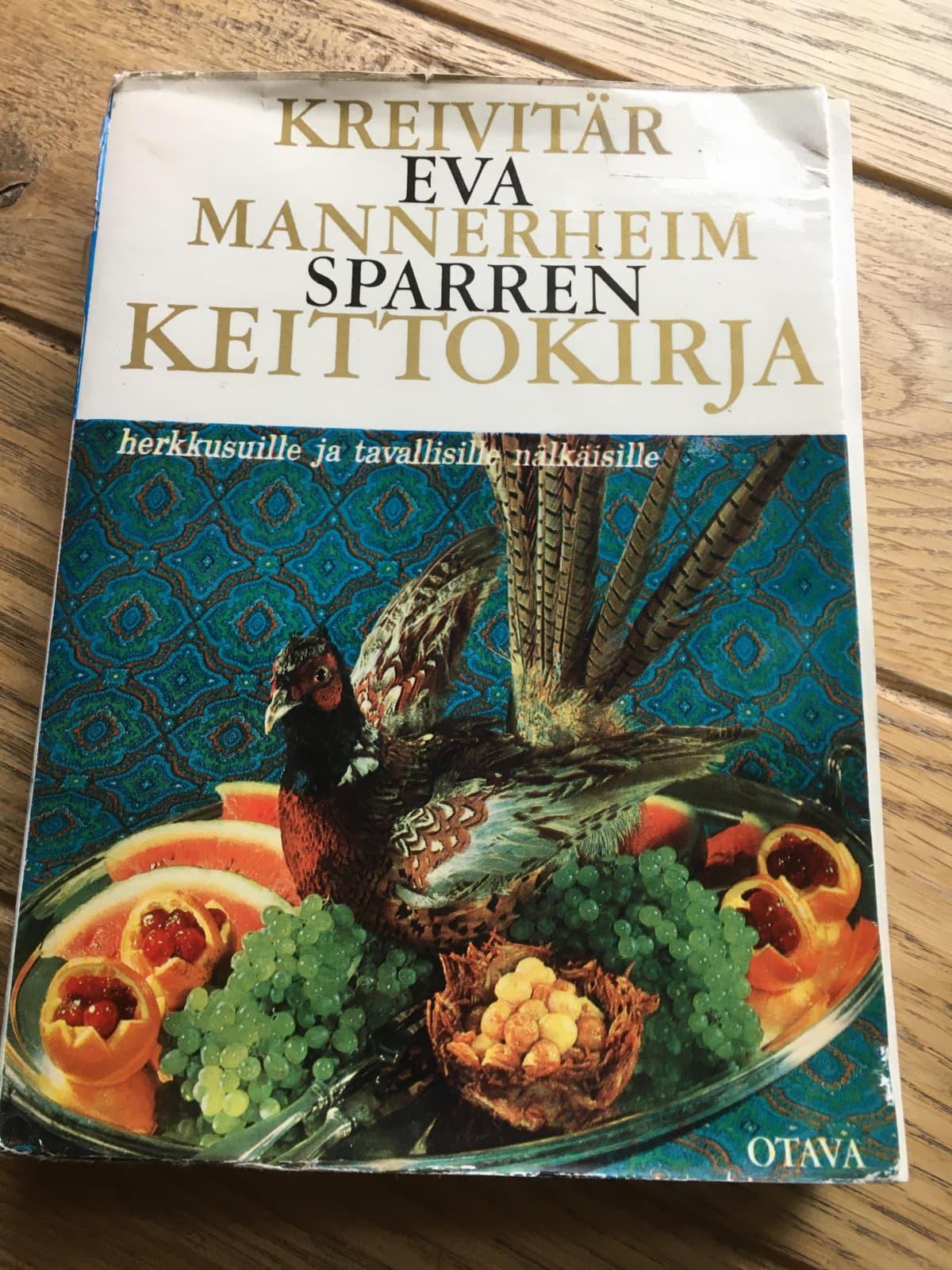 Kreivitär Eva Mannerheim-Sparren keittokirja.