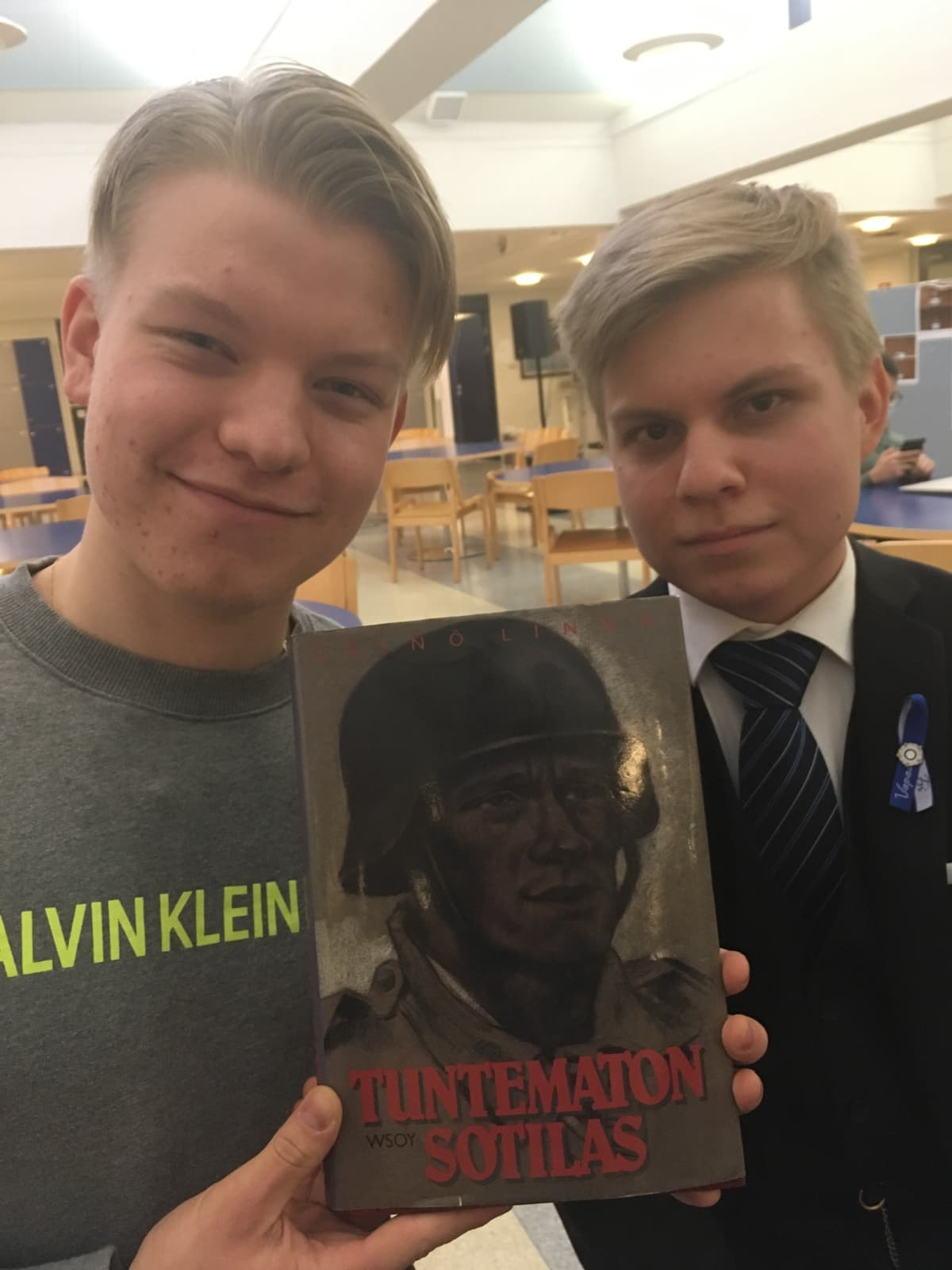 Eemil Mäkimattila ja Arttu Kinnunen