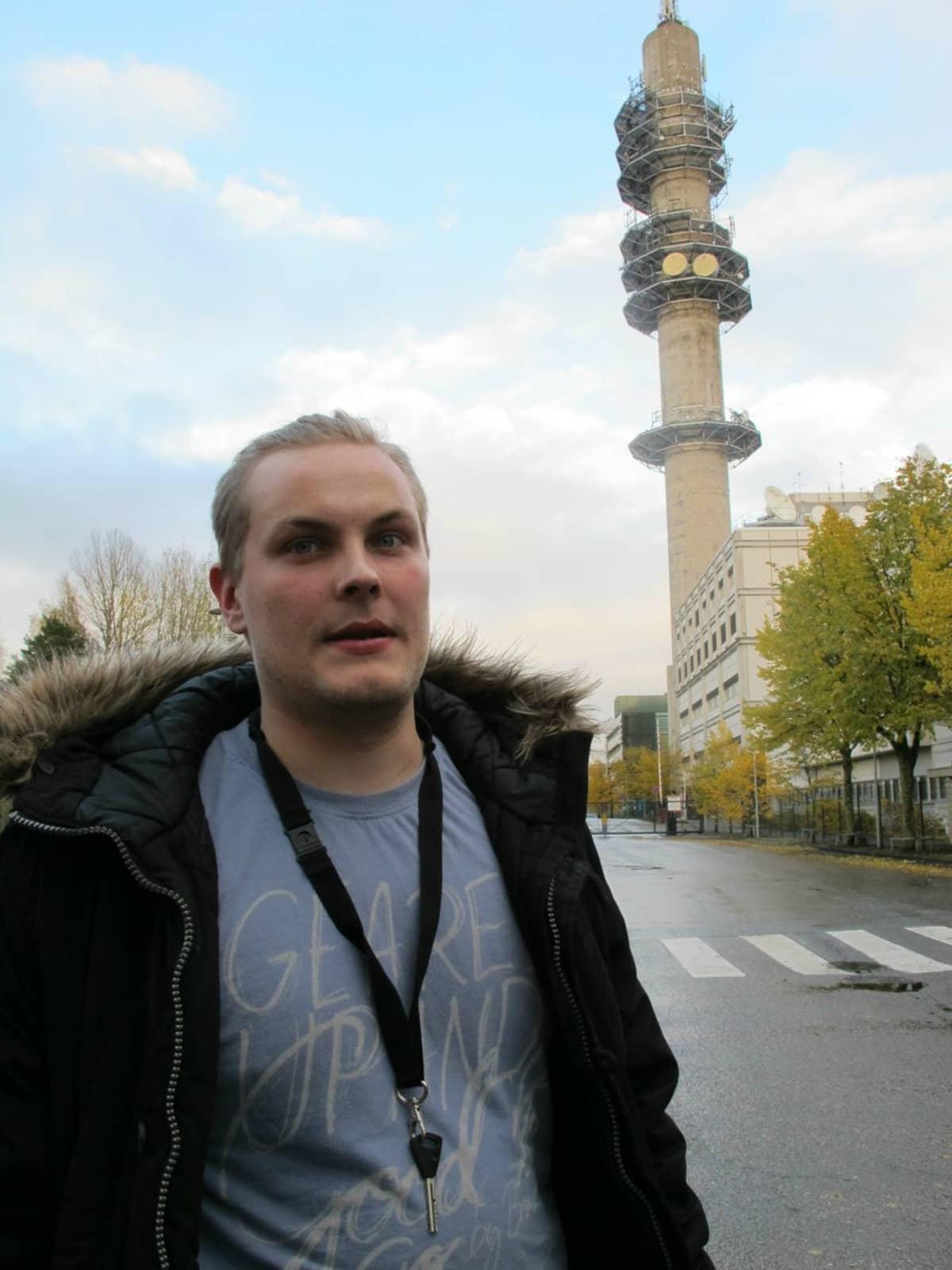 Casimir Nykopp kirjoitti MV-lehteen elokuussa.