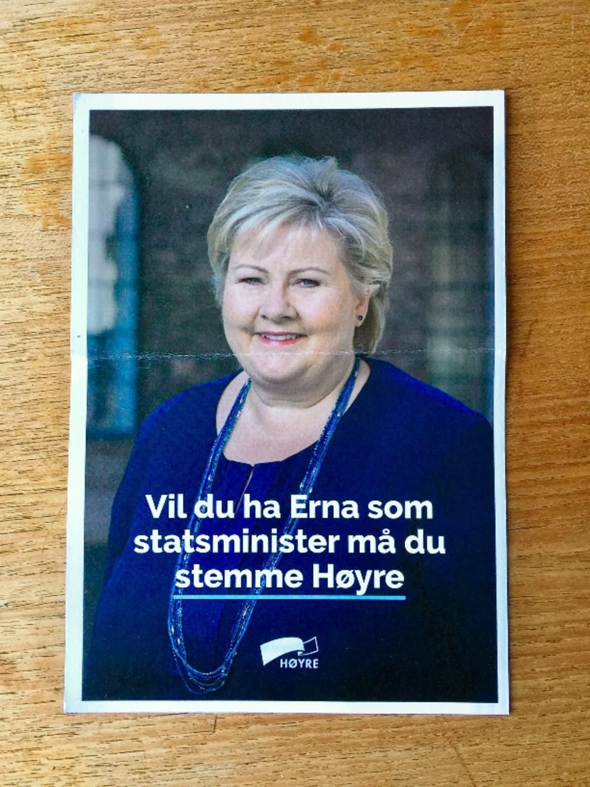 Norjan Høyren vaalilehtinen