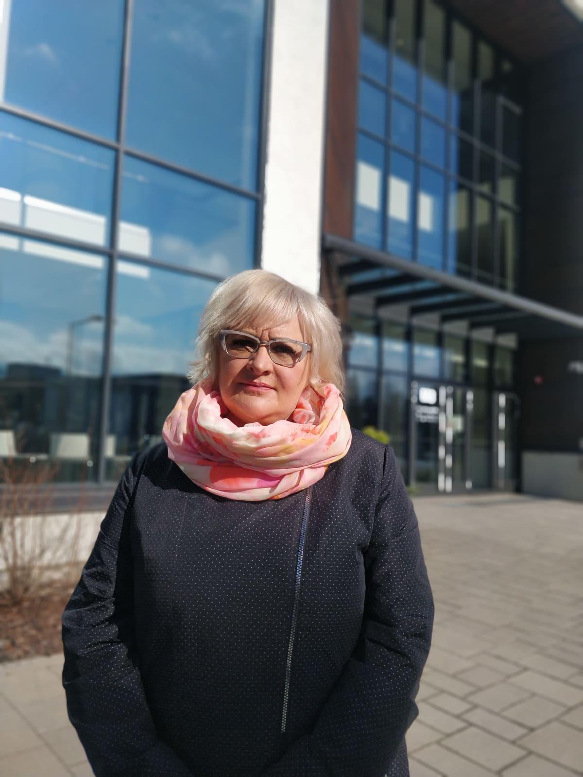 Kuvassa on Siun Soten henkilöstöjohtaja Johanna Bjerregård Madsen.
