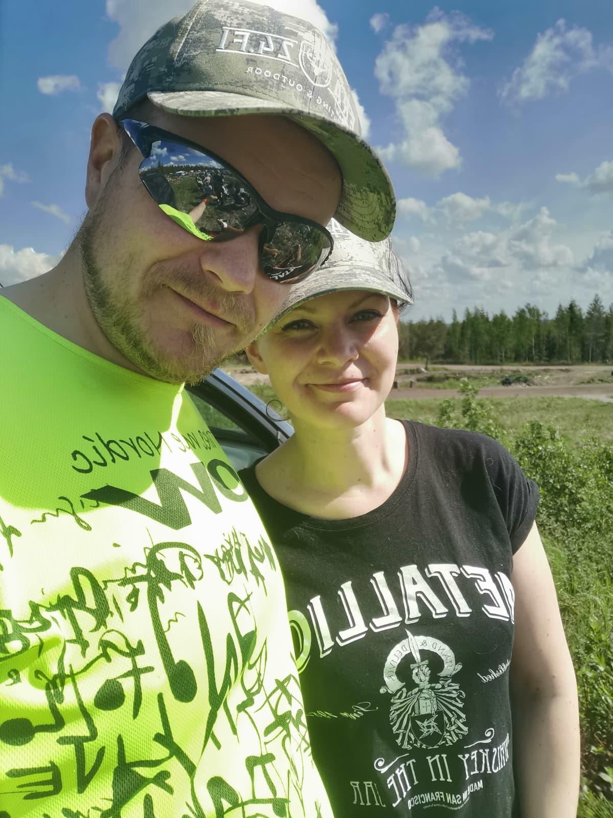 Mika Ilomäki ja Anna Karhulahti