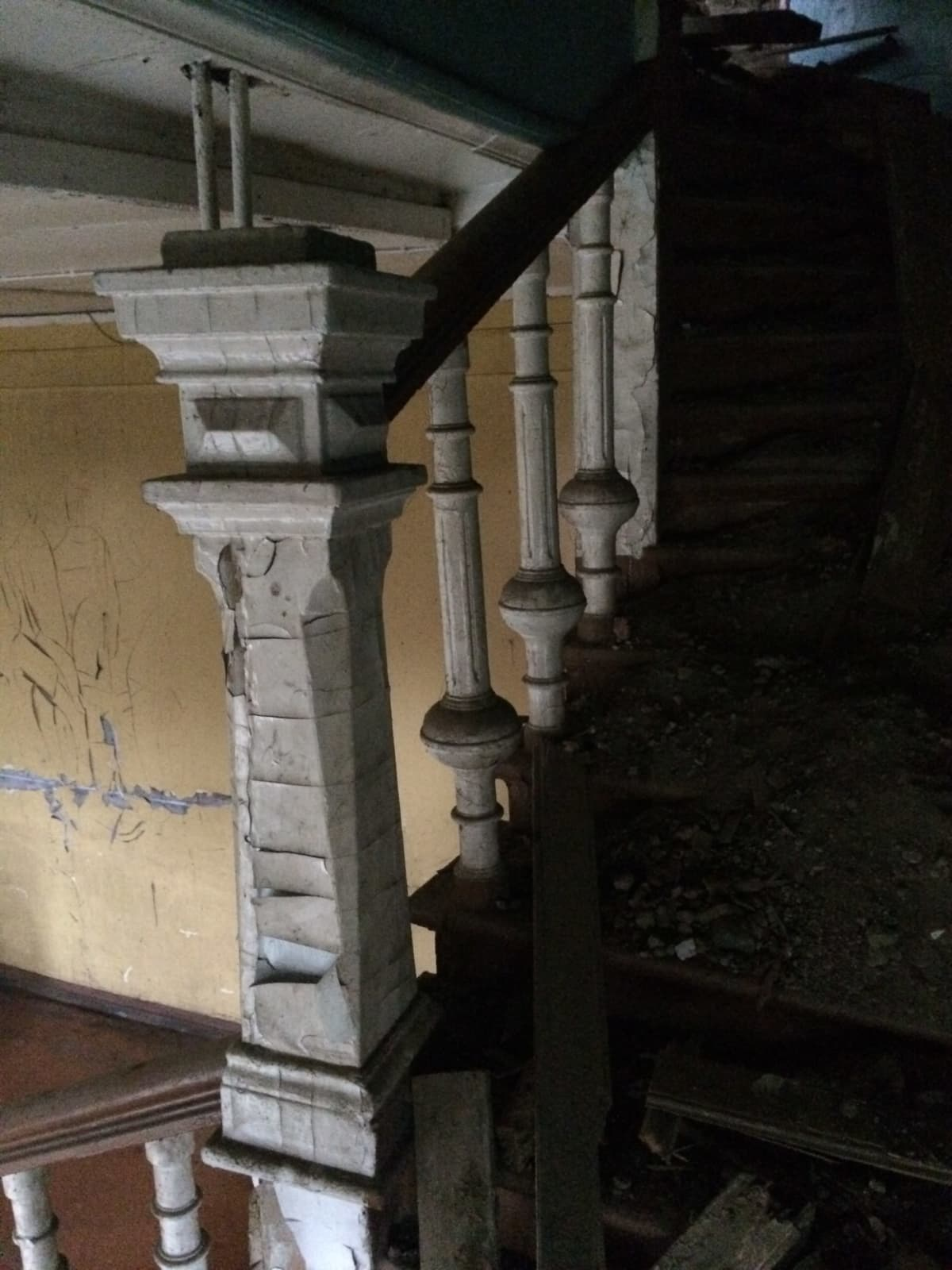 Kiiskilän kartanon portaikko