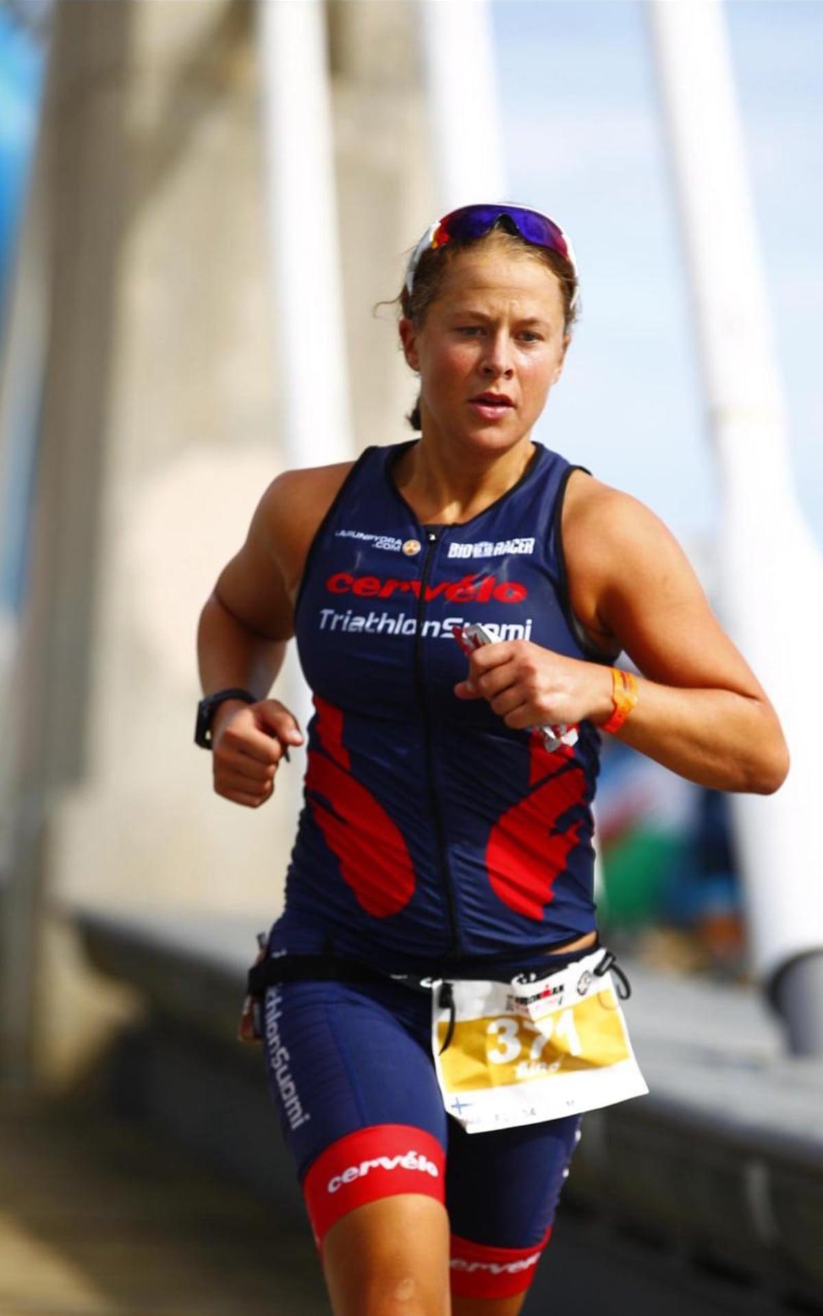 Aino Luoman kehitys triathlonin parissa on ollut hurjaa.