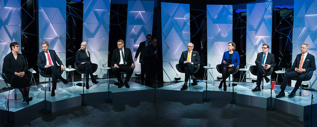 General Election debate 14.12.2017.