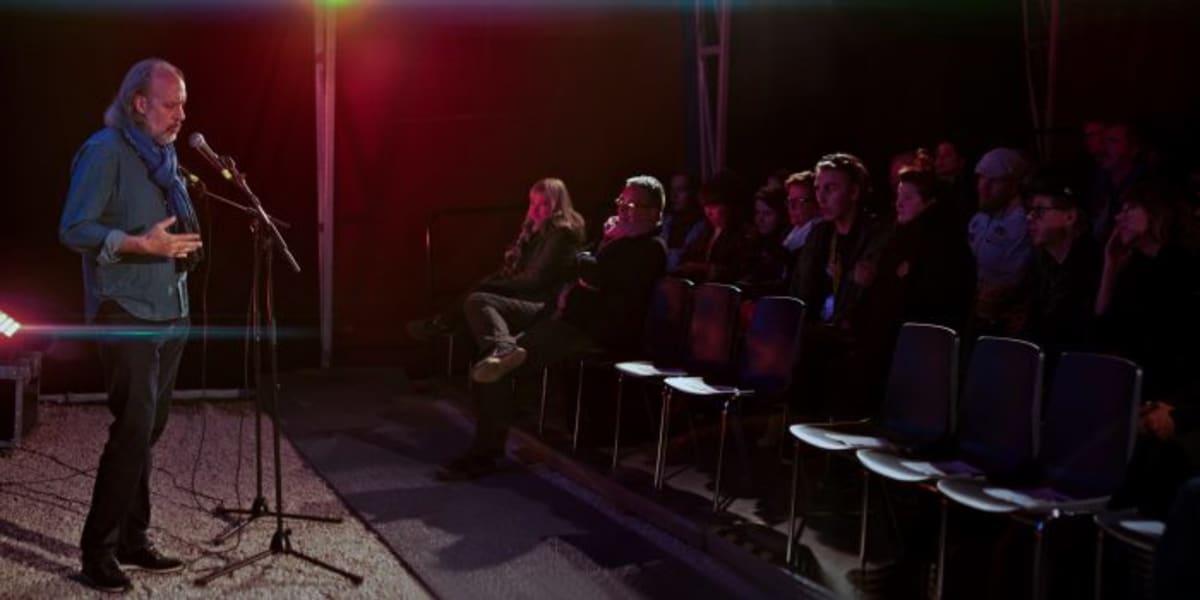 Jones esitteli Sodankylässä yleisölle paitsi oman Dianensa, myös kolme muuta elokuvaa.