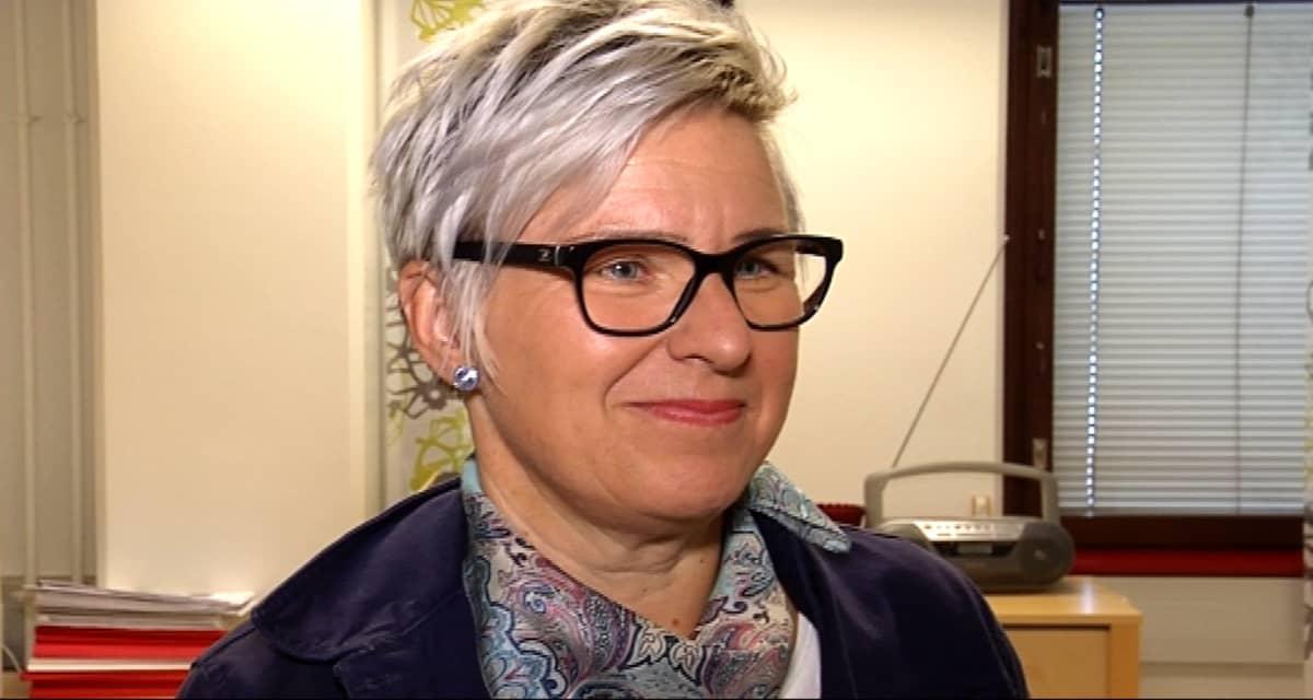 Lapin työ- ja elinkeinotoimiston johtaja Marja Perälä.