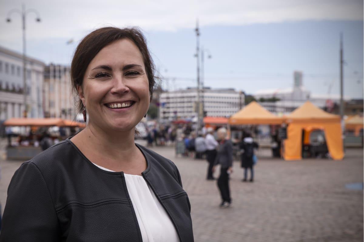 Vappu Mänty, Myynti- ja markkinointijohtaja, Helsinki Marketing Oy