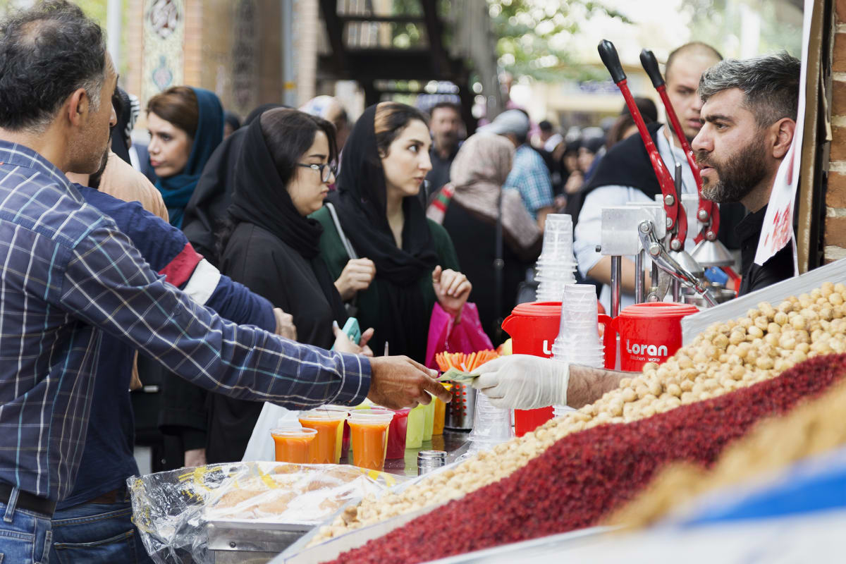 Surkea taloustilanne on rassannut iranilaisia jo pitkään.