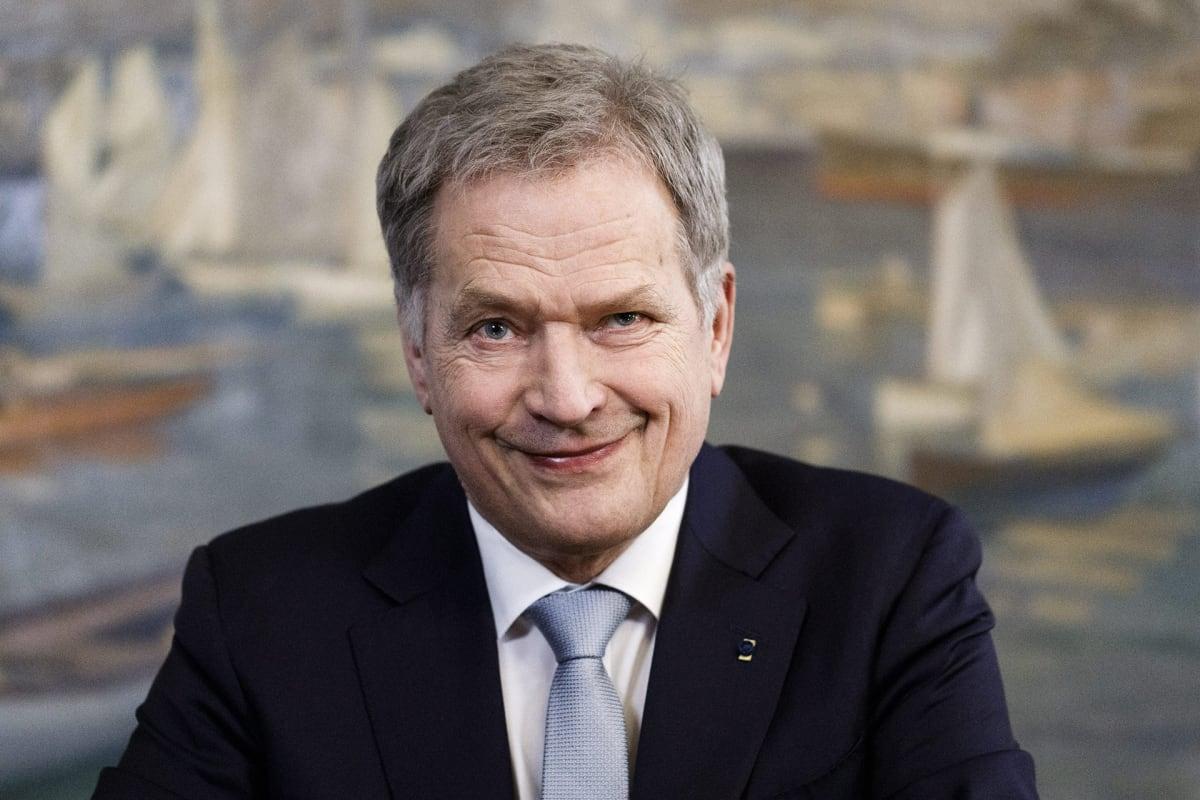 Bildresultat för Sauli Niinistö piti uudenvuoden puheen kuva