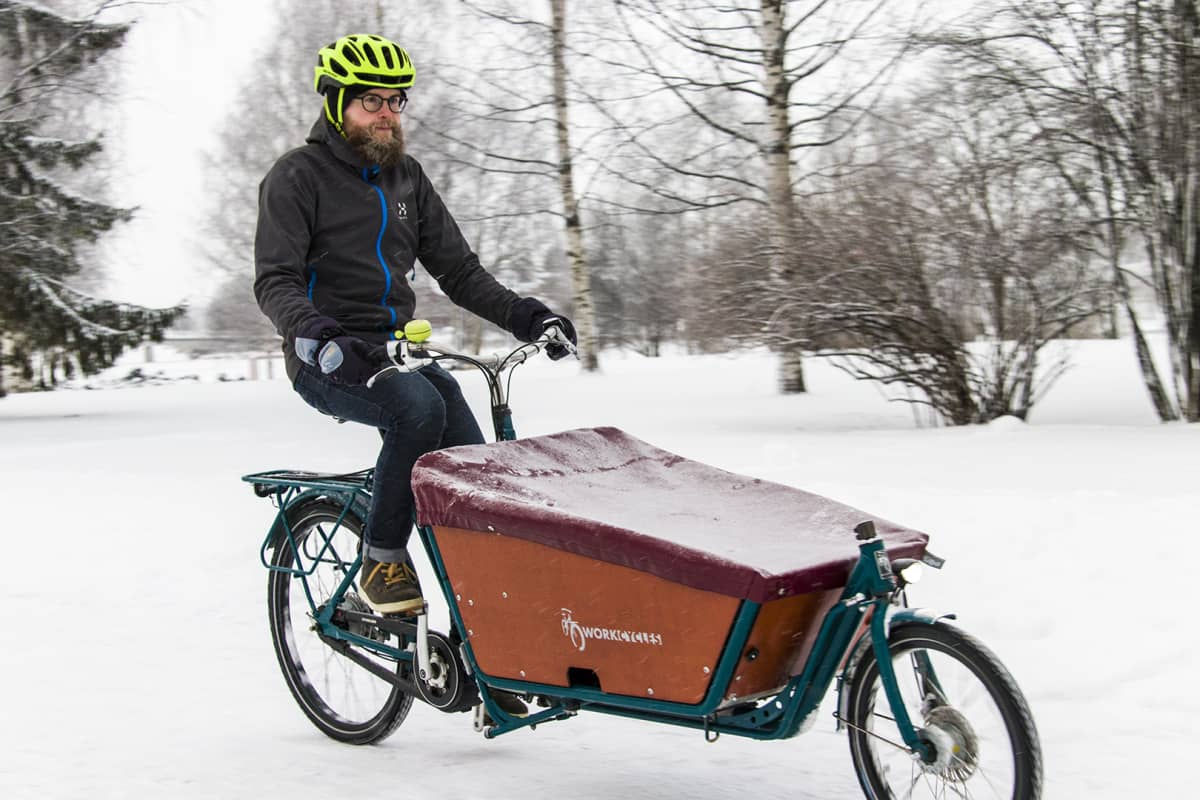 Puheenjohtaja Pasi Haapakorva, Oulun polkupyöräilijät.