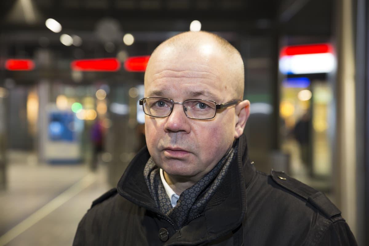 Tero Anttila joukkoliikenne johtaja HSL