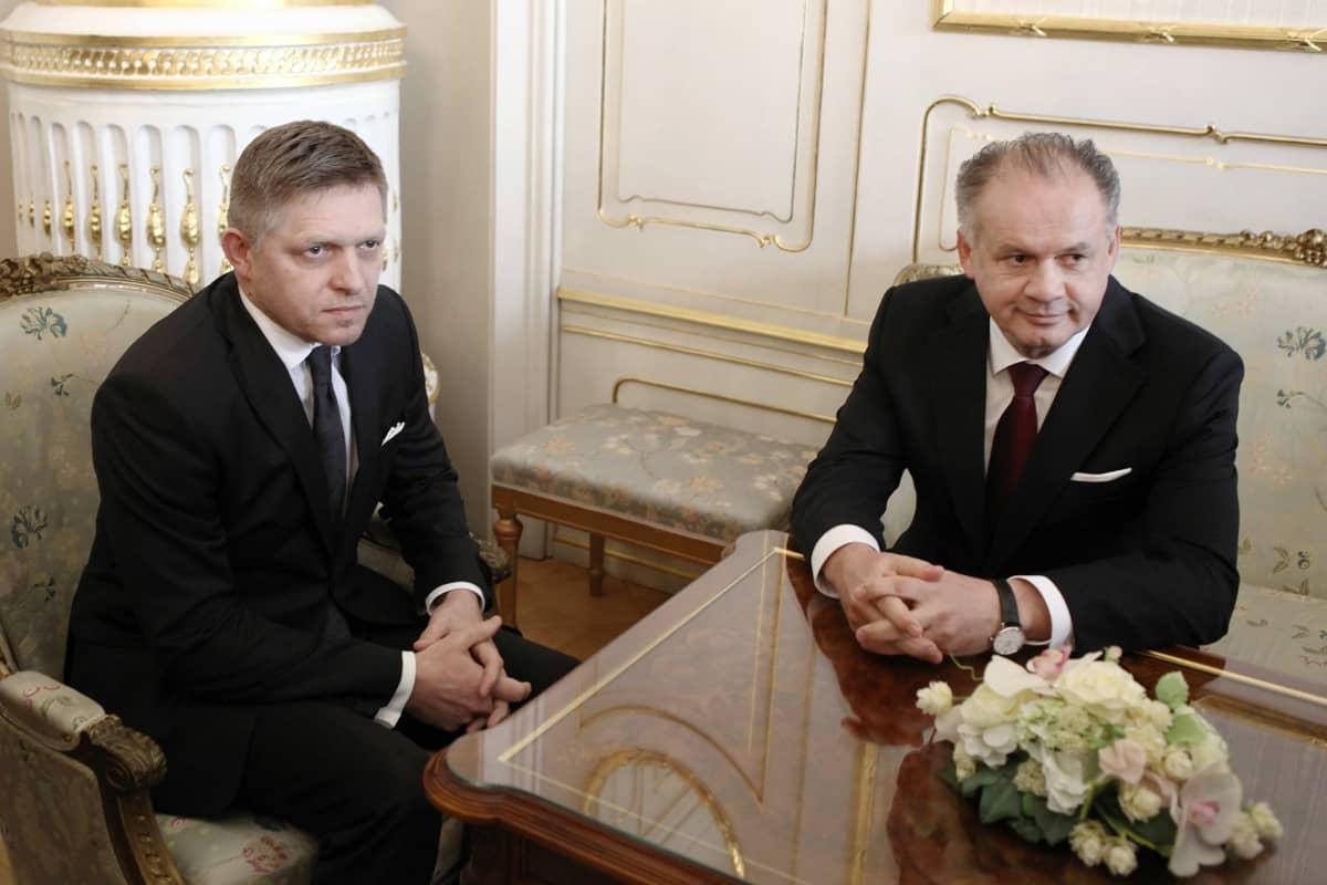 Robert Fico ja Andrej Kisko