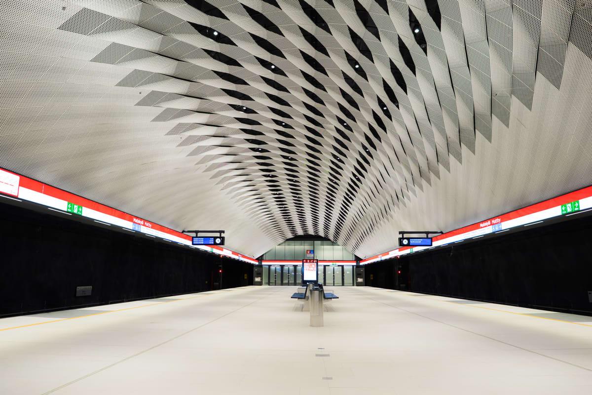 Matinkylän metroasema.