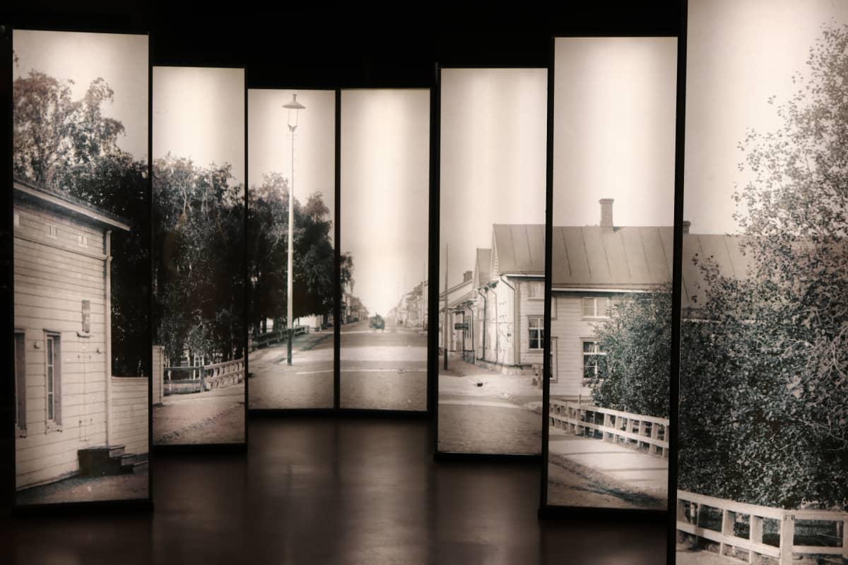 Oulun Pohjois-Pohjanmaan museon näyttely.