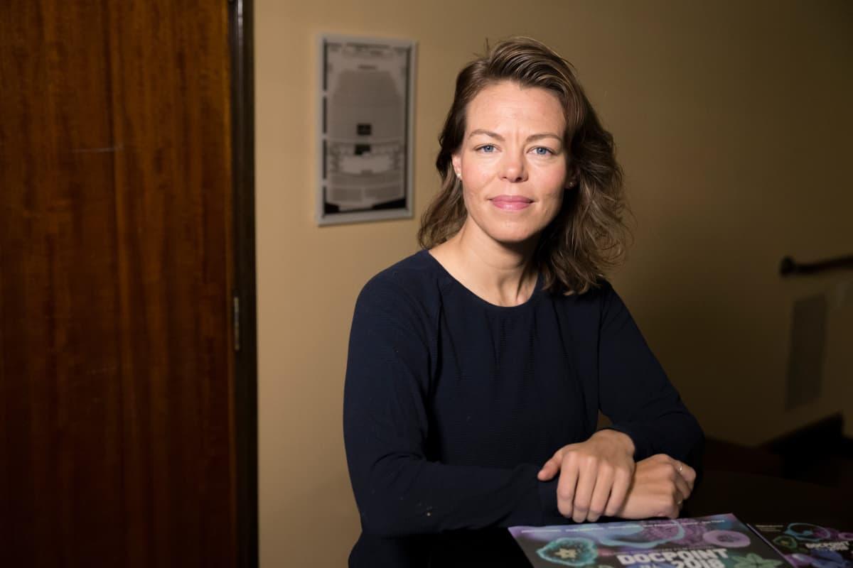 Tänä vuonna elokuvia on ohjelmistossa viime vuotta vähemmän, mutta niillä on useampia näytöksiä. Tarkoitus on, että kaikki halukkaat pääsevät katsomaan elokuvat, selittää DocPointin taiteellinen johtaja Iris Olsson.